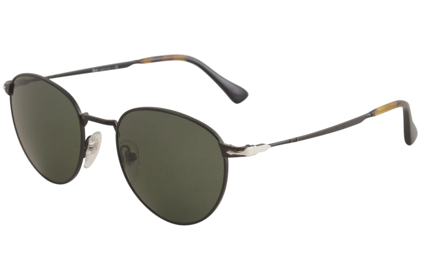 d10f3ff4e8 Persol Men s PO2445S PO 2445 S Fashion Round Sunglasses