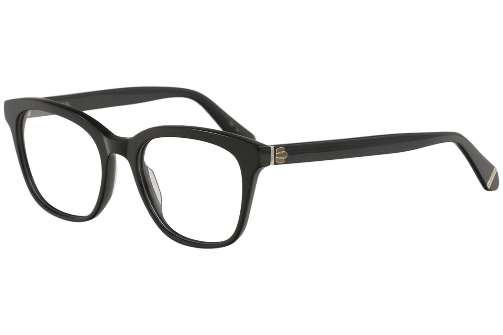 Image of Zac Posen Women's Eyeglasses Beshka Full Rim Optical Frame - Black   BK - Lens 51 Bridge 18 Temple 140mm