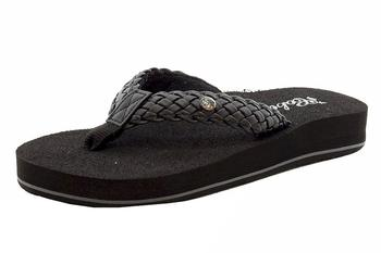 2b7e5edc9 Cobian Women s Braided Bounce Flip Flops Sandals Shoes by Cobian