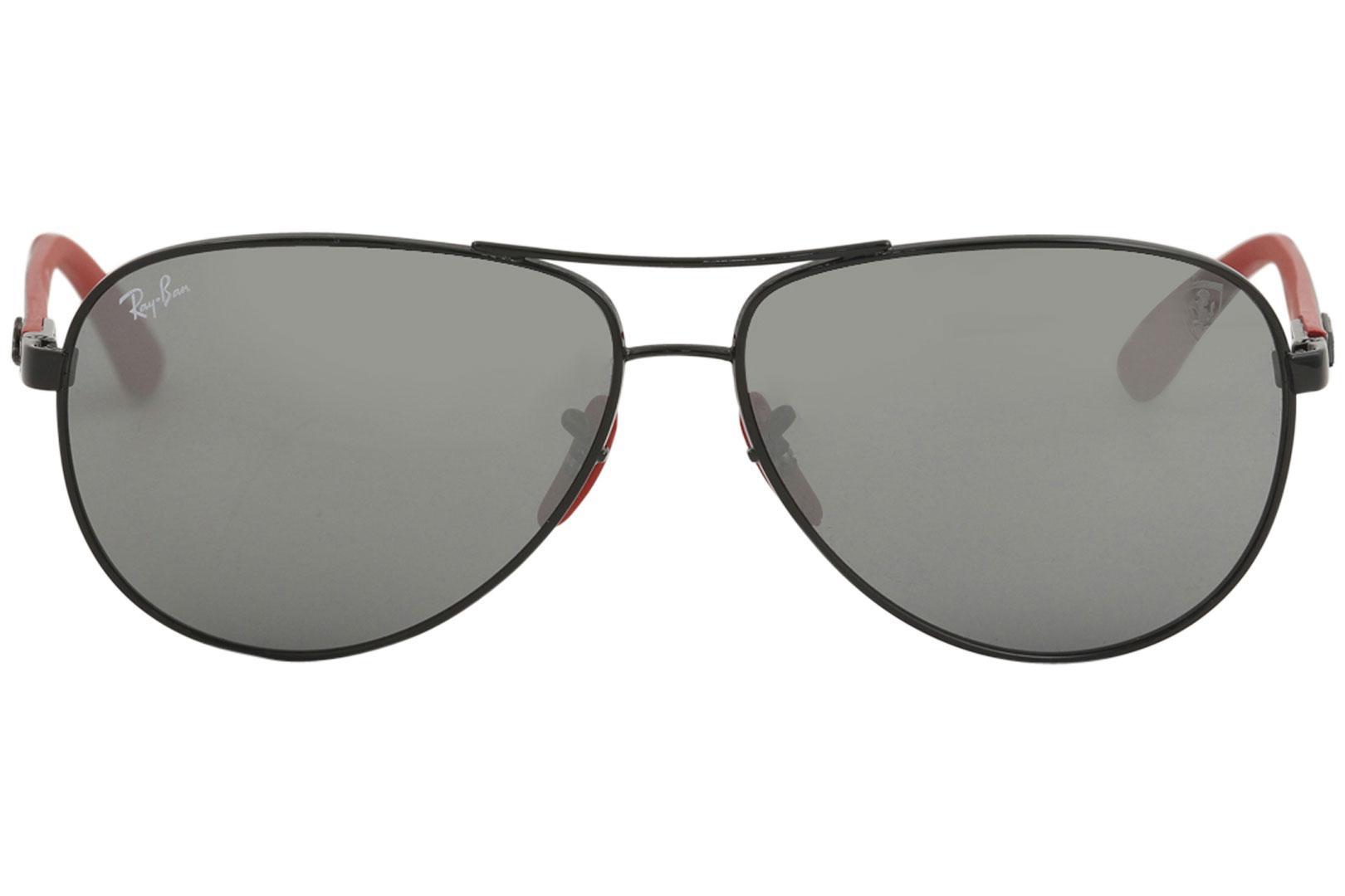 f52be9b173a Ray Ban Men s Scuderia Ferrari RB8313M 8313 Fashion Aviator Ray Ban  Sunglasses by Ray Ban