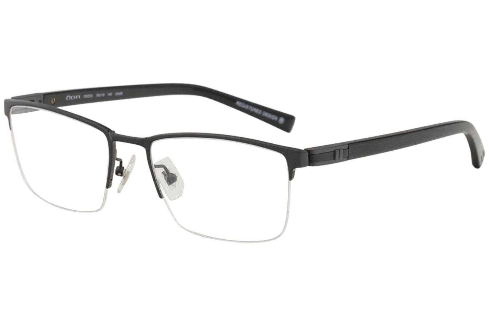 bc8dd8e8c4 Morel Men's Eyeglasses OGA 10020O 10020/O Half Rim Optical Frame