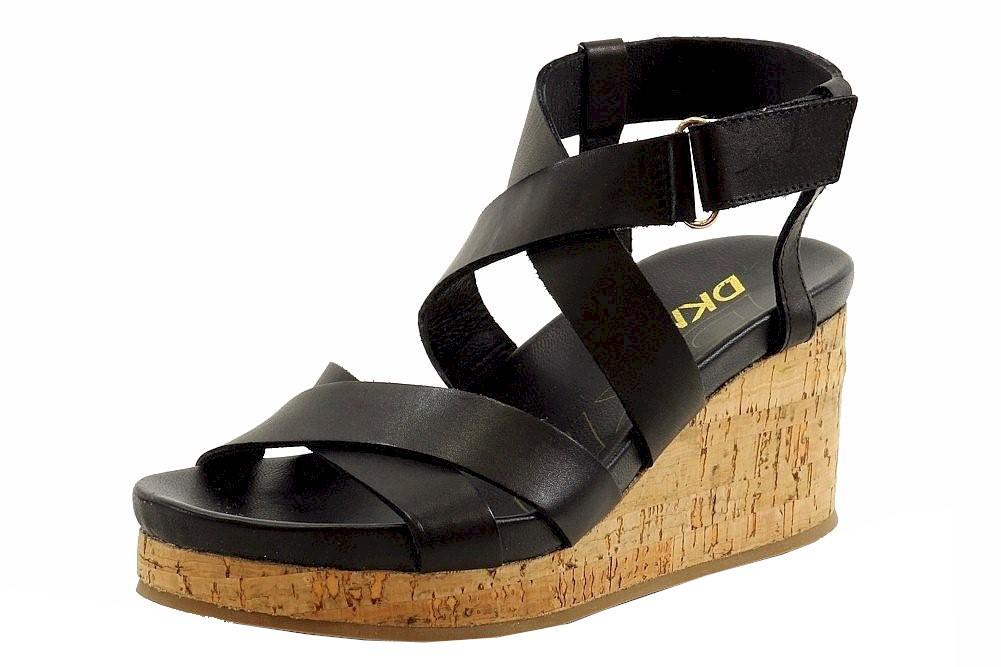 b50c8205f72f Donna Karan DKNY Women s Lani Fashion Strappy Wedge Sandals Shoes by DKNY