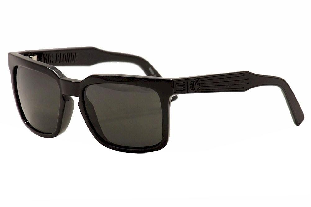 Image of Dragon Mr. Blonde Fashion Sunglasses - Jet/Grey - Large Fit