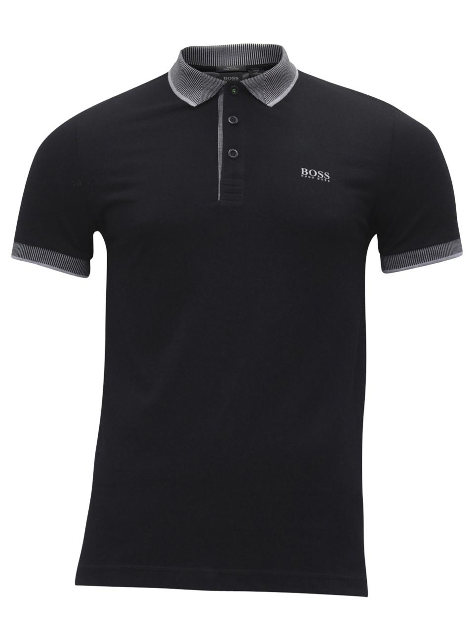78a54e413 ... Paule-2 Slim Fit Short Sleeve Cotton Polo Shirt by Hugo Boss. Hover to  zoom