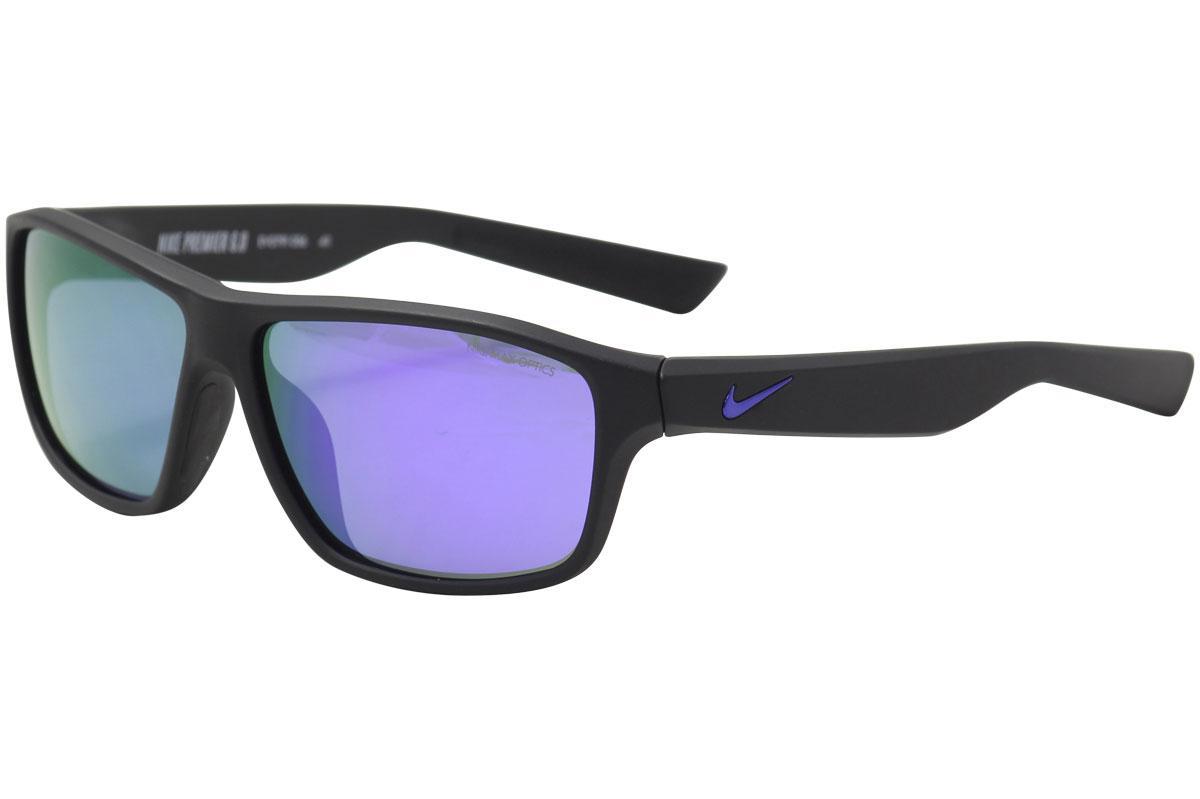2b229dfca88 Nike Men s Premier 6.0 R EV0791 EV 0791 Full Rim Square Sunglasses