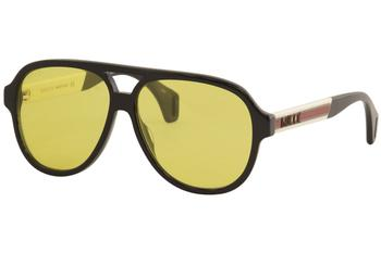 Gucci Men's GG0463S GG/0463/S Fashion Pilot Sunglasses