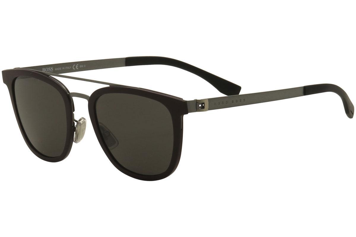 eaa0d9e02a Hugo Boss Men s 0838S 0838 S Square Sunglasses