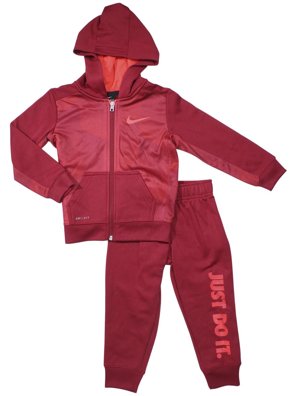Nike Toddler Boy's 2-Piece Just Do It Therma Hoodie & Pants Set