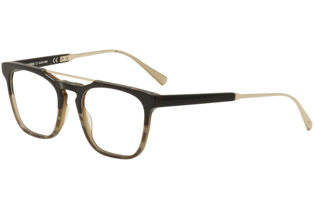 Harley-Davidson Black Label Eyeglasses HD1025 HD/1025 Full Rim ...
