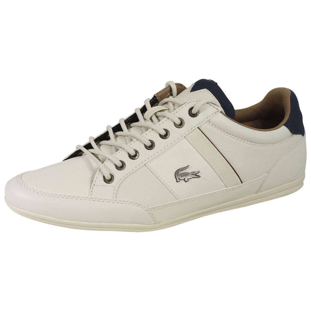 de0688451 Lacoste Men s Chaymon-118 Low-Top Sneakers Shoes