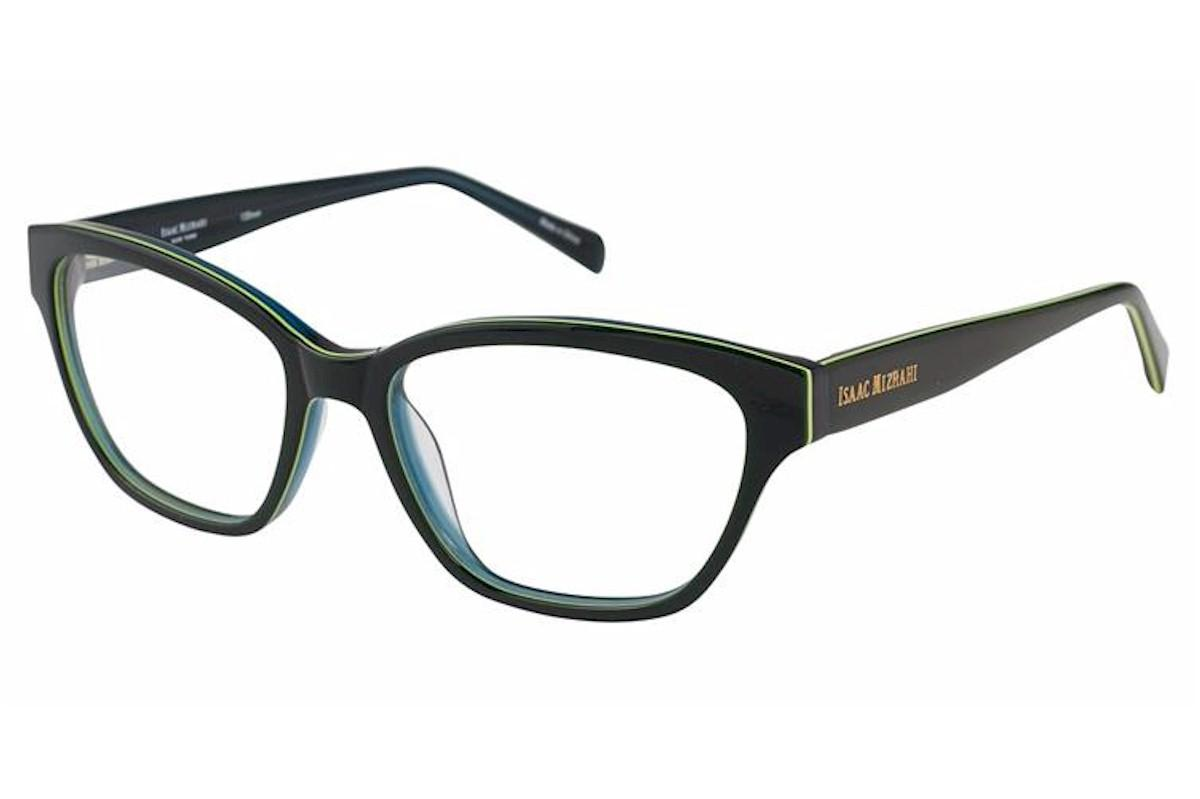 Image of Isaac Mizrahi Women's Eyeglasses IM30013 IM/30013 Full Rim Optical Frame - Green - Lens 53 Bridge 16 Temple 135mm
