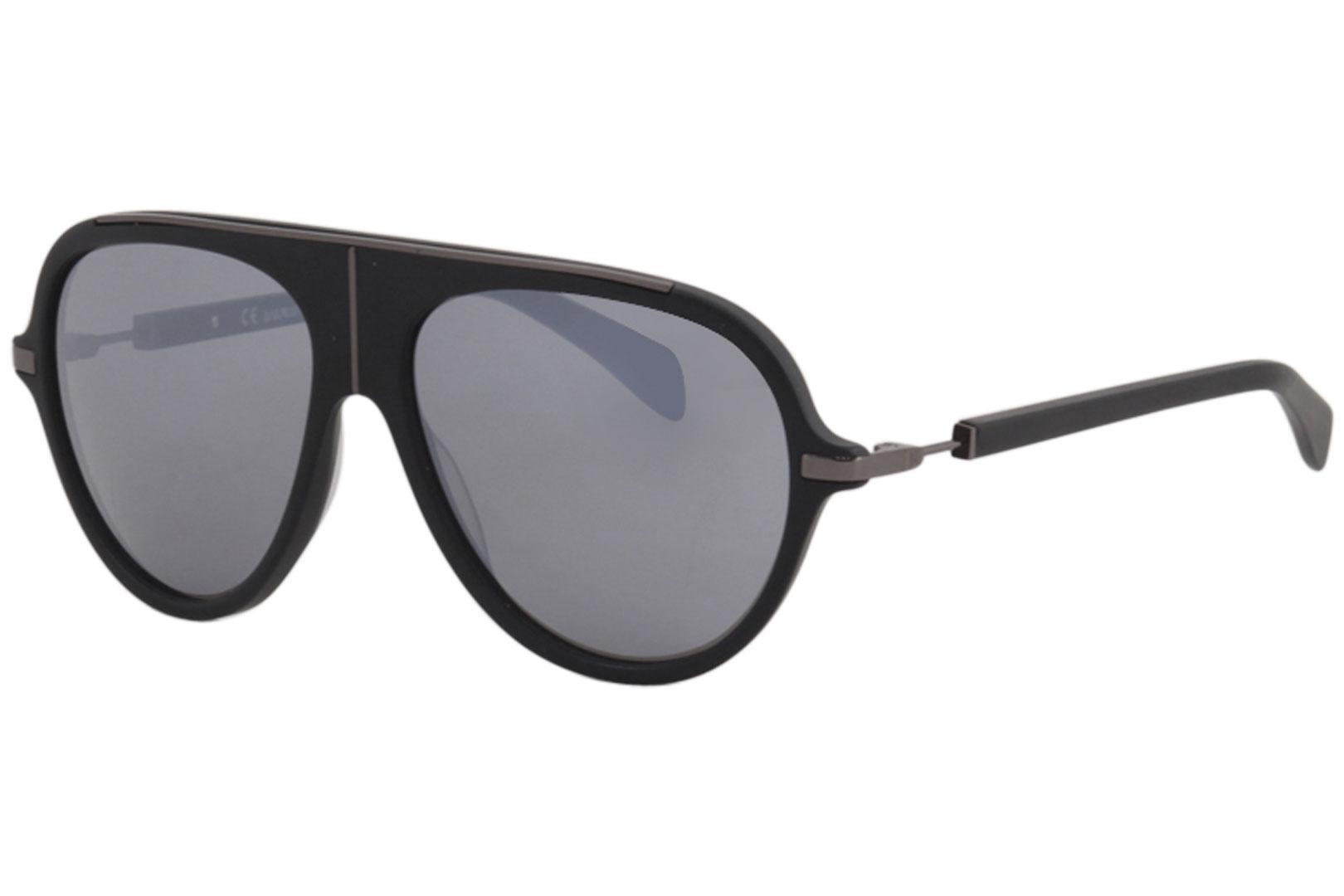 Balmain Men/'s BL2104 BL//2104 C02 Black//Tortoise Fashion Pilot Sunglasses 60mm