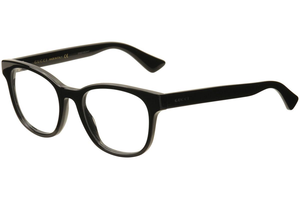 70cdd2e241c Gucci Men s Eyeglasses GG0005O GG 0005O Full Rim Optical Frame