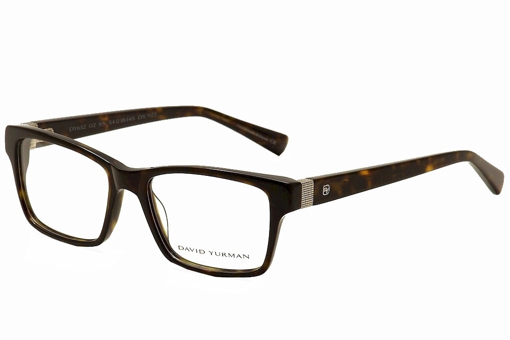 Image of David Yurman Eyeglasses DY652 DY/652 Full Rim Optical Frame - Brown - Lens 54 Bridge 18 Temple 145mm