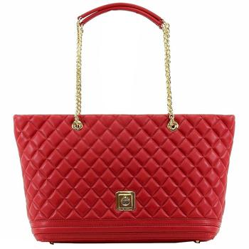 Love Moschino Women's Quilted Nappa Leather Tote Handbag  UPC: