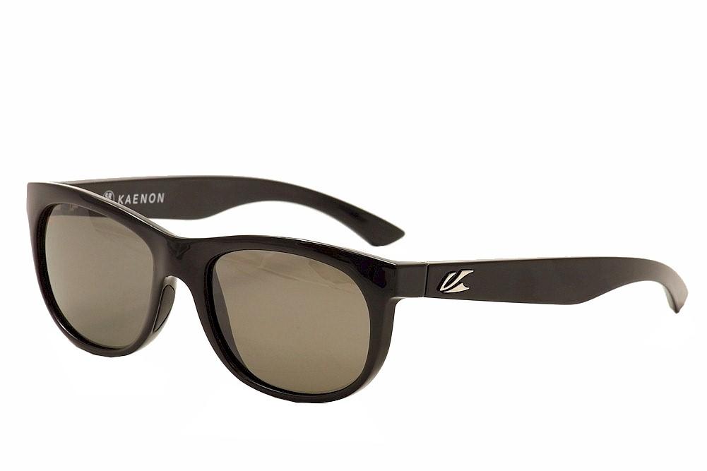 Image of Kaenon Polarized Stinson 033 Fashion Sunglasses - Black - Lens 54 Bridge 19 Temple 139mm