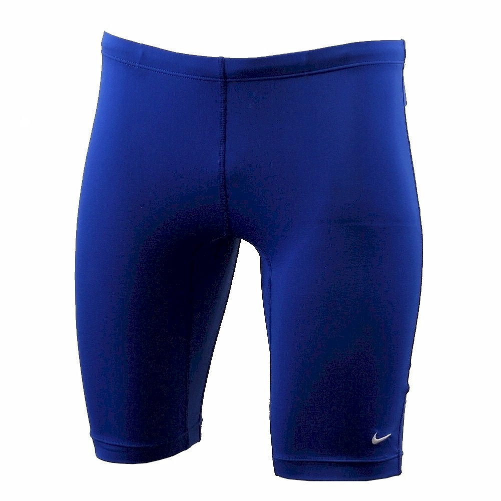 Nike Men's Poly Core Solids Jammer Swimsuit Performance Swimwear