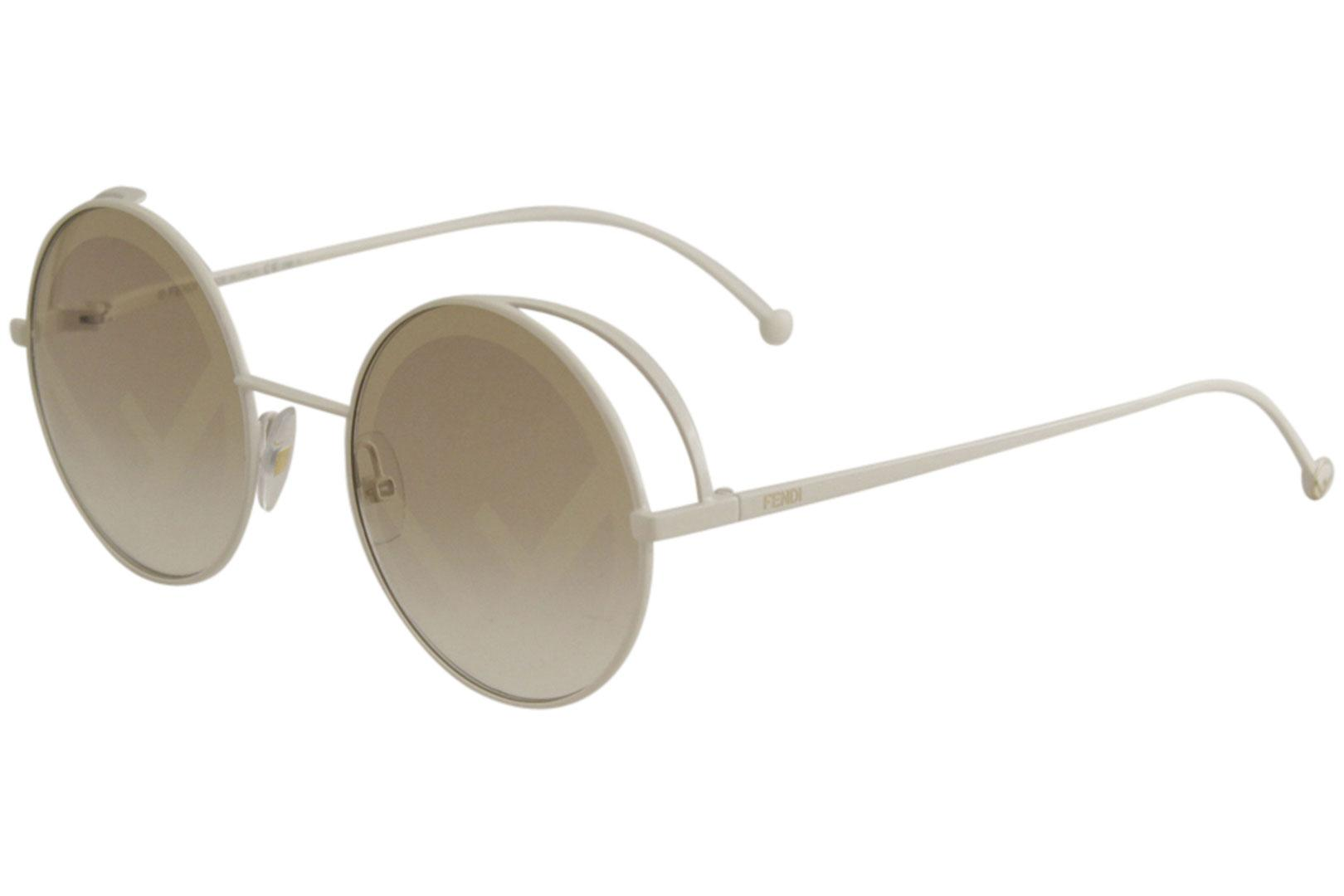 aadc94aa2 Fendi Women's FF0343S FF/0343/S Fashion Round Sunglasses by Fendi. Touch to  zoom