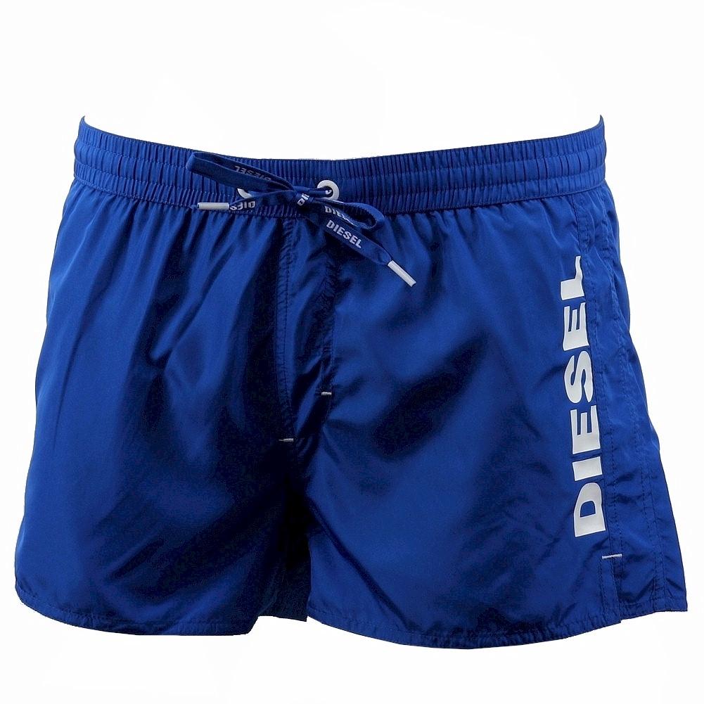 Image of Diesel Men's Coralred Swim Shorts Swimwear - Blue - X Large