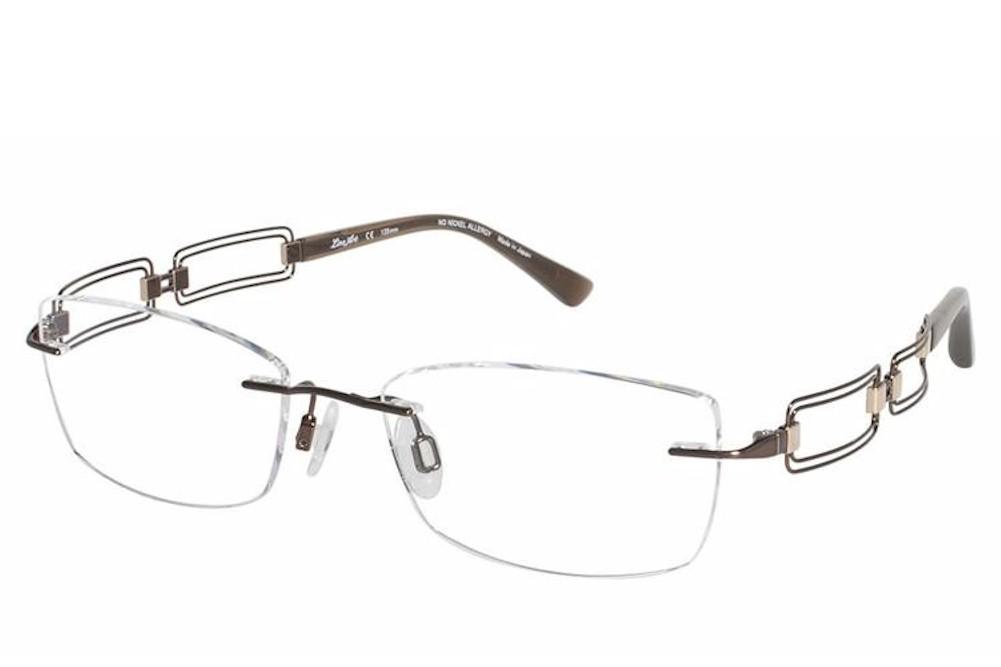 4c3a3a928e0 Charmant Line Art Women s Eyeglasses XL2020 XL 2020 Rimless Optical Frame