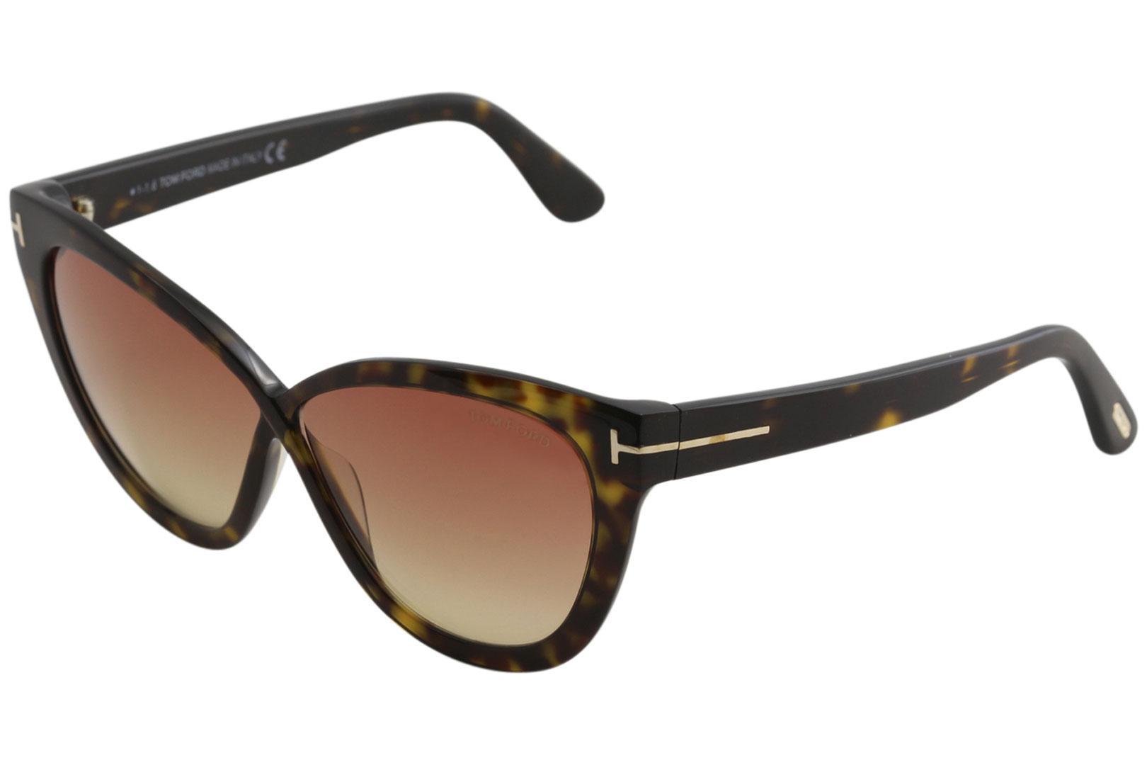 4c3dc2150b8 Tom Ford Women s Arabella TF511 TF 511 Fashion Cat Eye Sunglasses