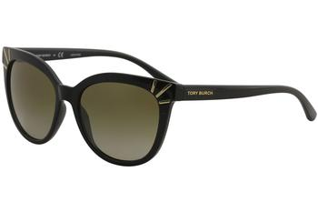 7ea255b22ce Tory Burch Women s TY9051 TY 9051 Fashion Cat Eye Sunglasses