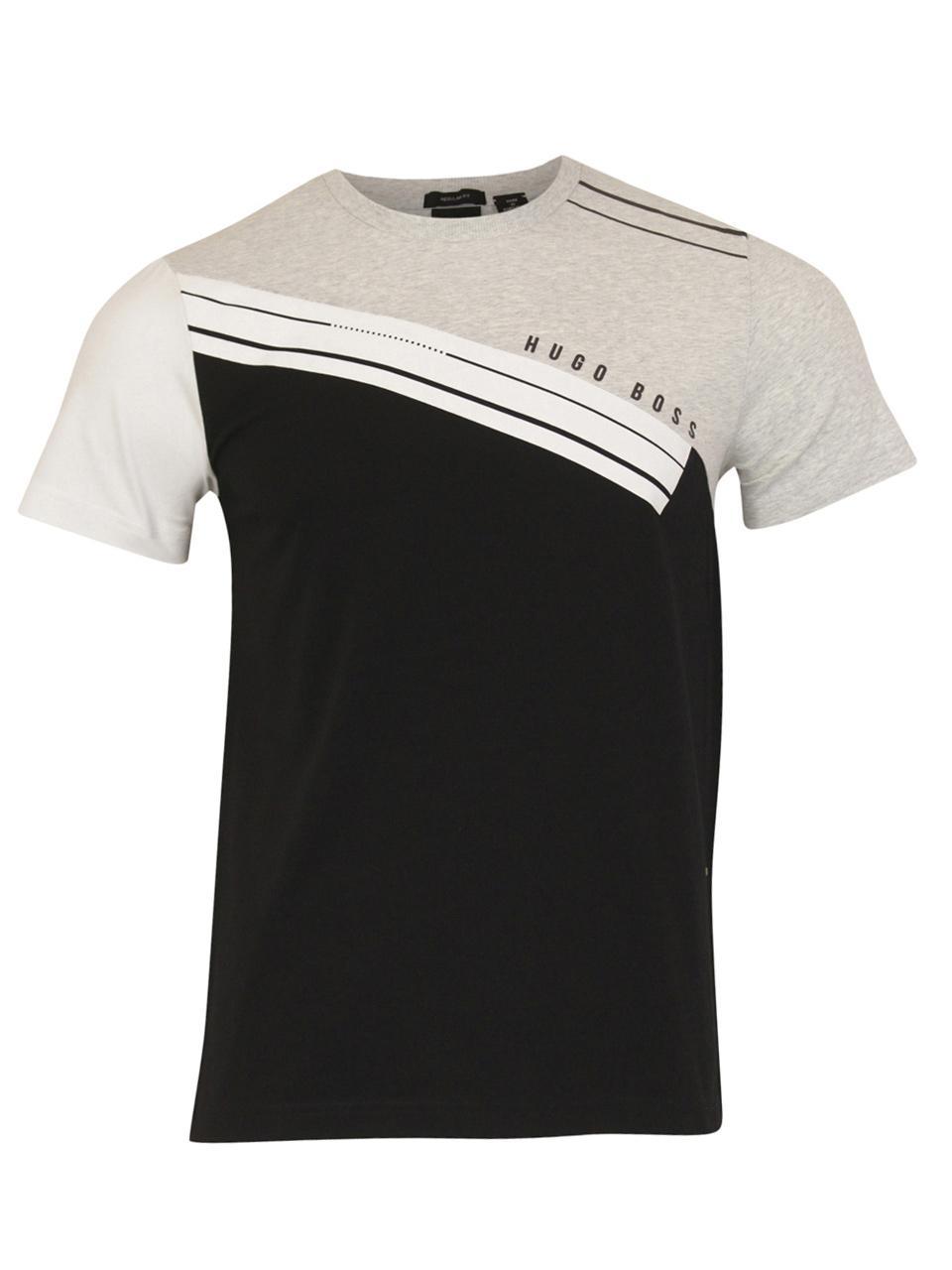 Hugo Boss Mens t-Shirt Tee 1 White 50399291 100