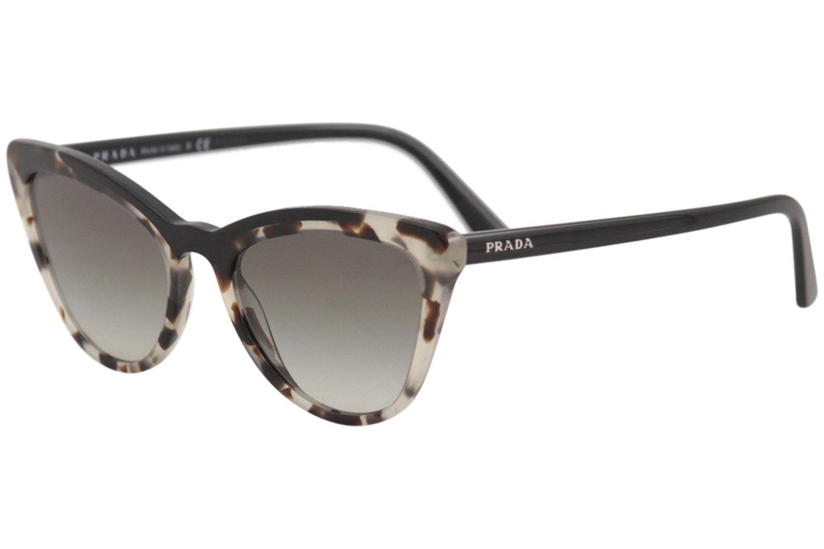 32b30b7203b Prada Women s SPR01V SPR 01 V Fashion Cat Eye Sunglasses