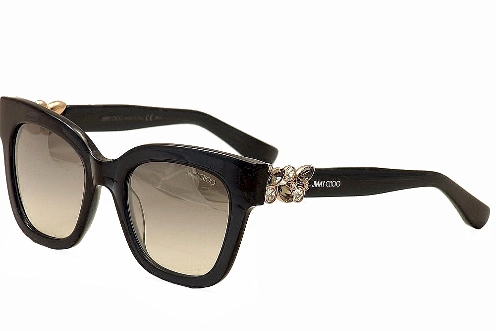 Image of Jimmy Choo Women's Maggie/S Fashion Sunglasses - Grey - Lens 51 Bridge 21 Temple 140