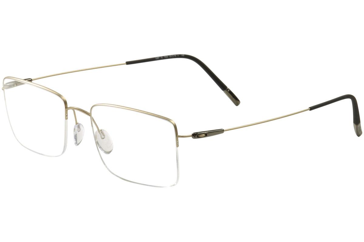 e275313b83 Silhouette Men's Eyeglasses Dynamics Colorwave Nylor 5497 Half Rim Optical  Frame by Silhouette. Touch to zoom