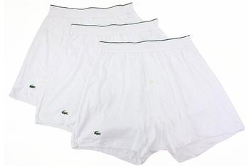 Lacoste Men's 3-Pc Essentials Solid Knit Boxers Underwear  UPC: