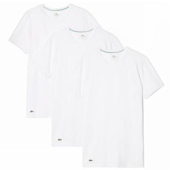 Lacoste Men's Essentials 3-Pc Crewneck Short Sleeve T-Shirt