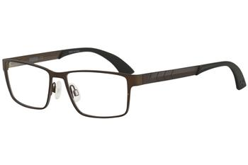 Puma Men's Eyeglasses PU0049O PU/0049O Full Rim Optical Frame
