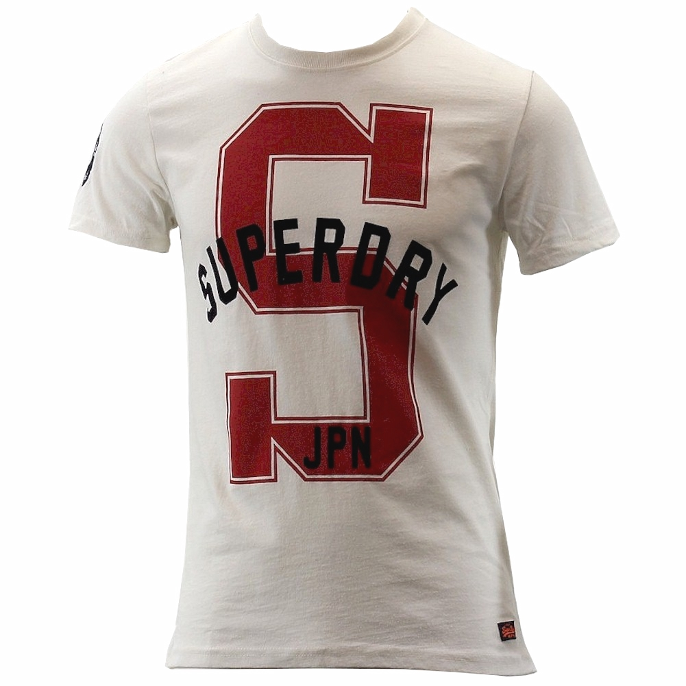 Image of Superdry Men's Dry State Short Sleeve T Shirt - Ivory - Large