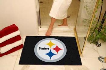 NFL Pittsburgh Steelers Floor Mat Rug UPC: