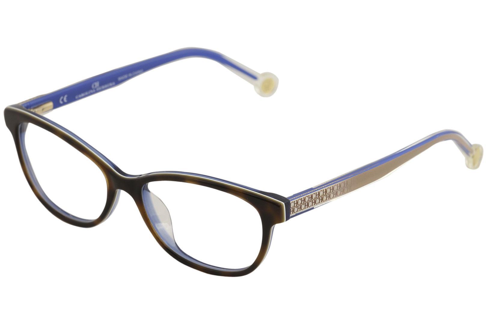 CH Carolina Herrera Women\'s Eyeglasses VHE726K VHE/726/K Full Rim ...