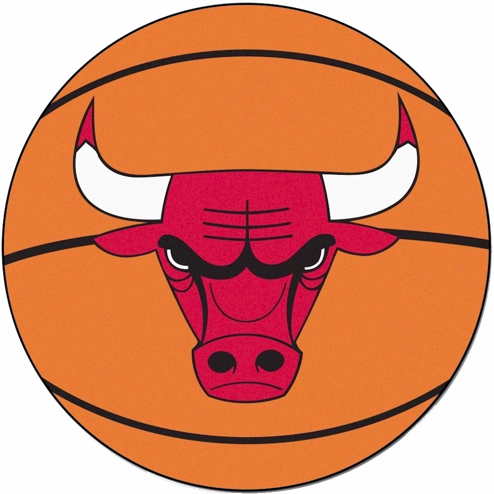 Image of NBA Chicago Bulls Floor Mat Rug