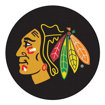 NHL Chicago Blackhawks Floor Mat Rug