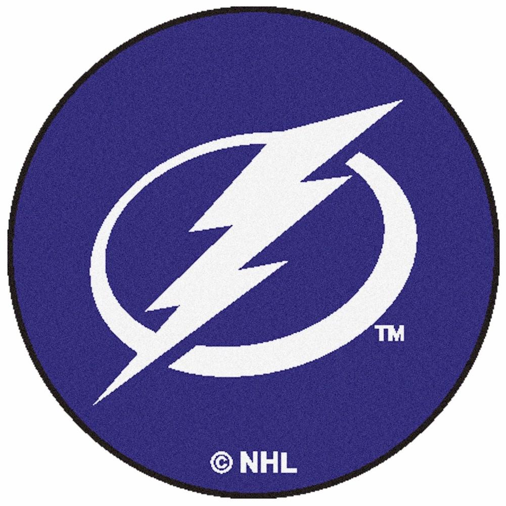 NHL Tampa Bay Lightning Floor Mat Rug Tampa Bay Lightning