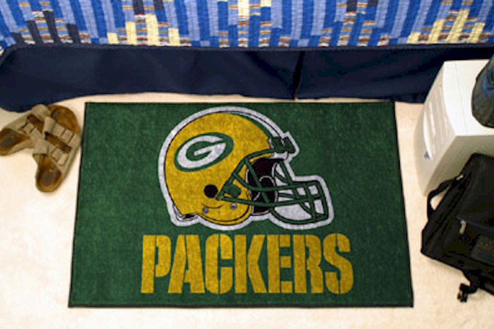 Image of NFL Green Bay Packers Floor Mat Rug