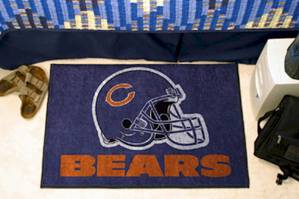 Image of NFL Chicago Bears Floor Mat Rug