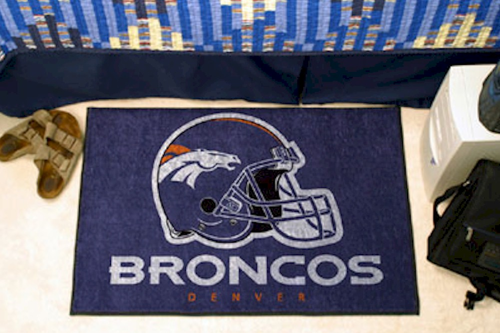 Image of NFL Denver Broncos Floor Mat Rug