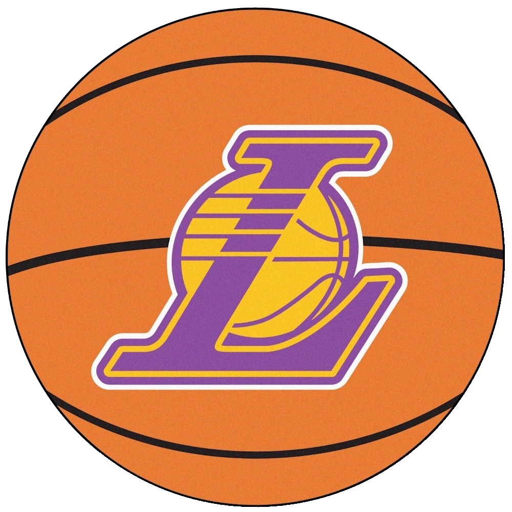 Image of NBA Los Angeles Lakers Floor Mat Rug