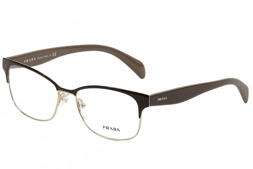 Prada Women\'s Eyeglasses VPR65R VPR/65R Full Rim Optical Frame