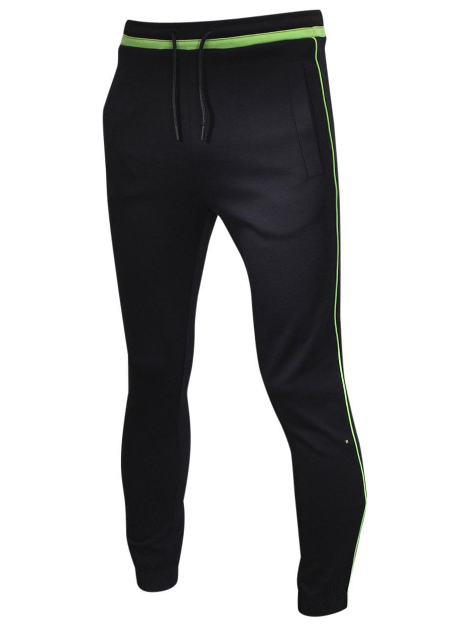 Hugo Boss Mens Hadiko Slim Fit Cotton Sweatpants