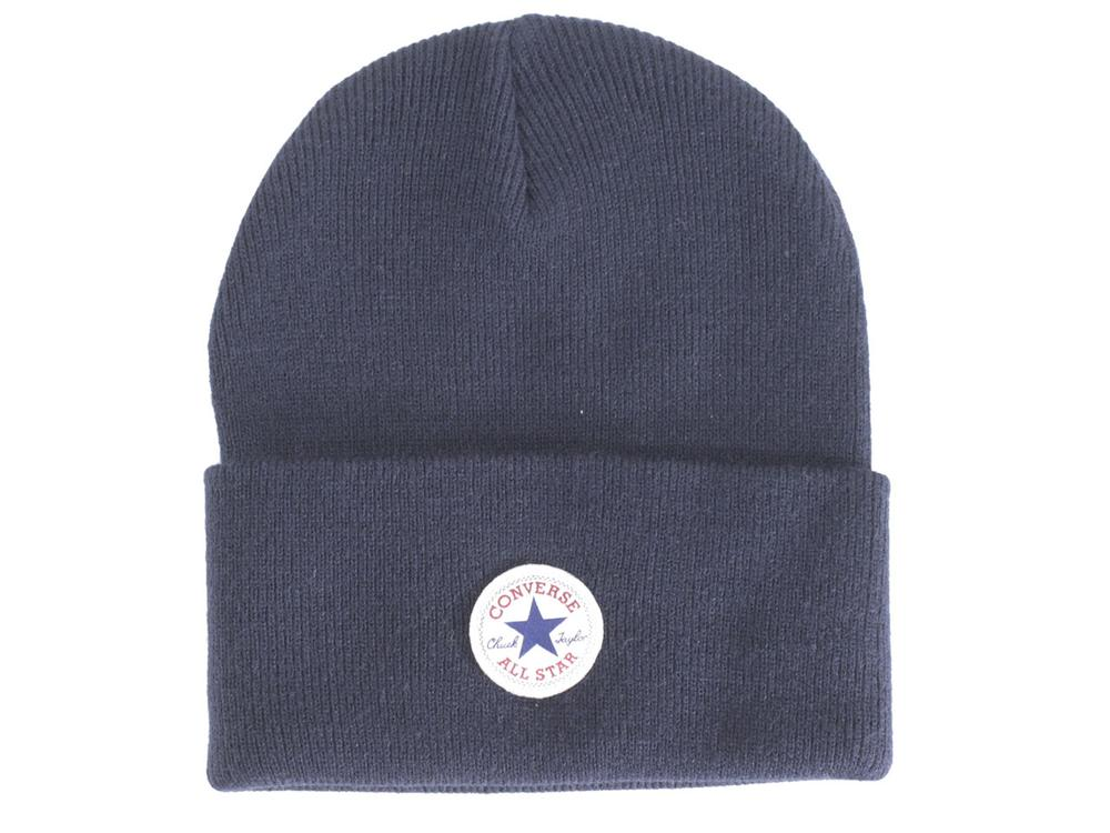 6da61e5fb91 Converse Men s Tall Cuff Knit Watch Cap Beanie Hat
