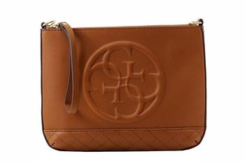 Guess Women's Korry Mini Convertible Crossbody Clutch Handbag UPC: