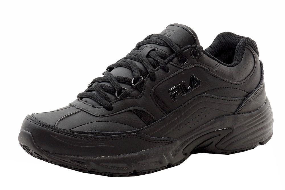 04030b16 Fila Men's Memory Workshift Non Skid Slip Resistant Training Sneakers Shoes
