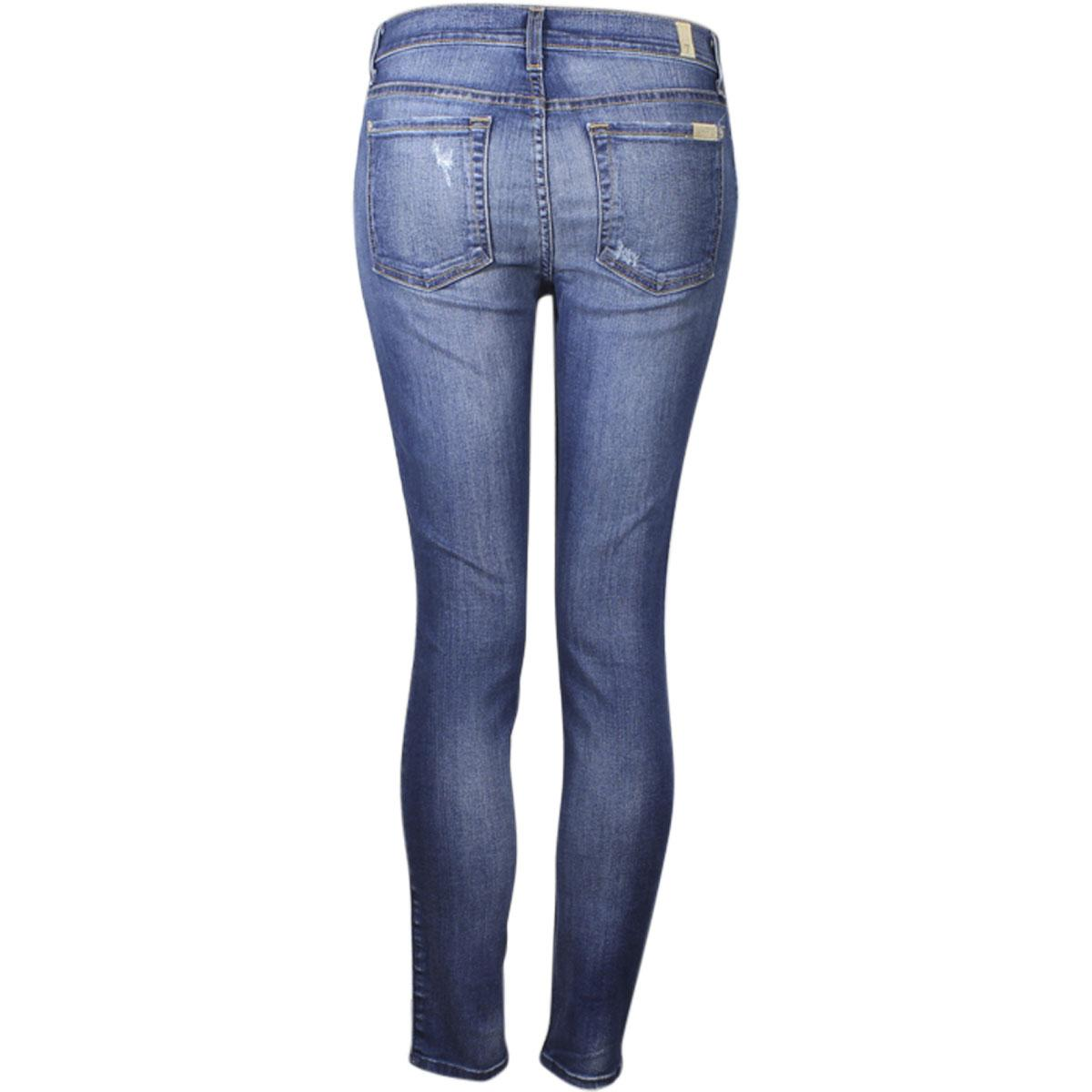 8a2d093983 ... Women's The Ankle Skinny With Destroy Jeans by 7 For All Mankind. 12