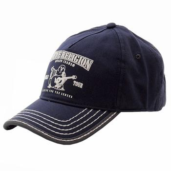 e6ae1b0d2a0 True Religion Men s Buddha Logo Adjustable Baseball Hat (One Size Fits Most  by True Religion